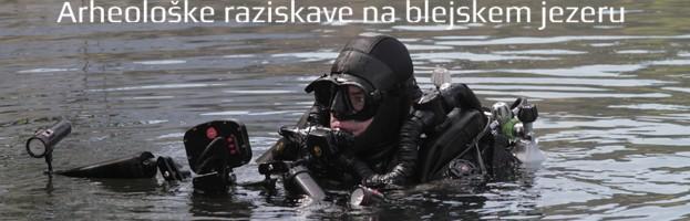 Arheološke raziskave na blejskem jezeru