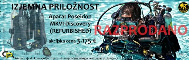 Izjemna in enkratna priložnost – Poseidon MKVI Discovery (refurbished) – RAZPRODANO