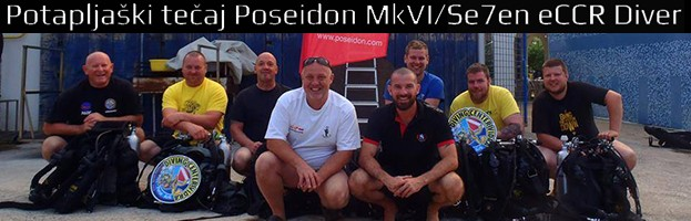 Potapljaški tečaj Poseidon MkVI/Se7en eCCR Diver (Krk 26.6. – 28.6.2015)